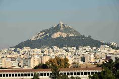 Гора Лекавиттос, на которой стоит церковь Святого Георгия