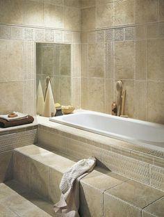Step-up tub...