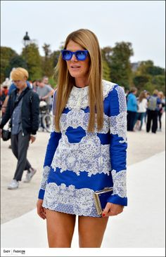Easy Fashion: Anna - les Tuileries - Paris FW