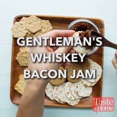 Gentleman's Whiskey Bacon Jam Recipe