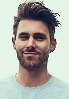 Would love to try this style on my husband...only I would take the sides down a little shorter and give it that real retro look!