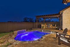 Freeform Concrete Pool - Designer Jason Olcott, San Antonio, Anthony and Sylvan Pools