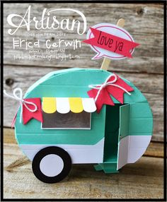 Pink Buckaroo Designs: Mini Camper- Whole Lotta Love Project Planner Valentines 2014