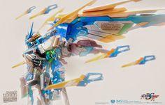 GUNDAM GUY: READERS FEATURE GUNPLA BUILD: MG 1/100 Gundam Astray Blue Frame D - Custom Build + Photography by Will Chong