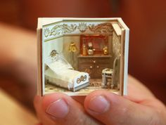 Dollhouse Miniature RoomBox - living room, Scale 1:12 by shopKristi (68.00 USD) http://ift.tt/1MbCyse