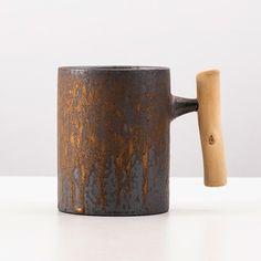 Ceramic Coffee Cups, Coffee Mugs, Beer, Ceramics, Glasses, Tableware, Vintage, Root Beer, Ceramica