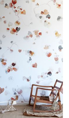 I adore this Vertere wallpaper form Trove! Reminds me of Japanese illustrations…