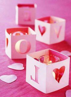 2014 Valentine's day wedding decoration, Valentine's day wedding table decor, Valentine's day wedding candle decor, 2014 valentine's day ideas  www.loveitsomuch.com