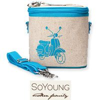 So Young Modern Family [soyoung.ca] Aqua Scooter Cooler Bag sighted with Britney Spears and son Jayden    http://www.jewelsandpinstripes.com