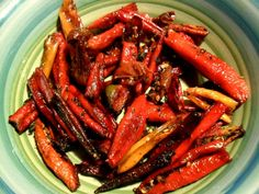 Slow roasted garden peppers can dress up a dish, or make an awesome snack!