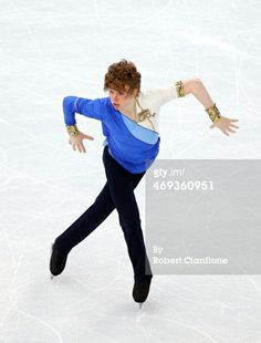 ニュース写真: Kevin Reynolds of Canada performs during the Figure Skating…