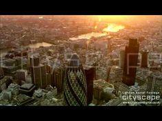 Cityscape Digital Ltd - London Aerial Footage London Bridge, London City, Aerial Footage, London Eye, Digital, Painting, Painting Art, Paintings, Painted Canvas