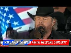 WELCOME CONCERT3 DONALD TRUMP Inauguration Day 2017 TOBY KEITH