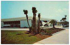 Jekyll Island New Aquarama, GA, convetion hall, Georgia, chrome postcard