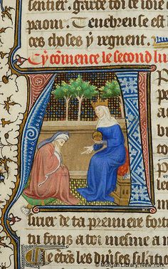 Literary, MS M.332 fol. 29r - Images from Medieval and Renaissance Manuscripts - The Morgan Library & Museum