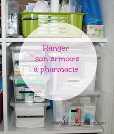 rangement armoire à pharmacie