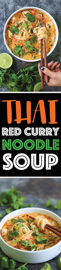 Thai Red Curry Noodle Soup | Damn Delicious | Bloglovin'