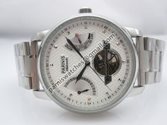 Parnis 43mm white rugged dial sea-gull automatic m - Automatic - Parnis watch station