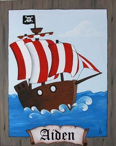 picture of pirate at sea theme - Google Search