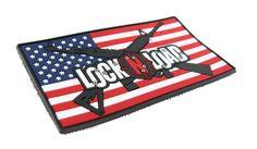 Patriotic Lock N' Load PVC Patch