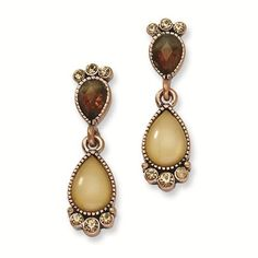 Copper-tone Brown Crystal
