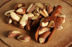 Eat 3-4 Brazil nuts daily to help a sluggish thyroid. One of the largest problems with typical thyroid medication (for hypothyroidism) is that it only provides T4 hormone. The most bioactive form of thyroid hormone in your body is actually T3. Your body needs several key nutrients to convert T4 to T3 efficiently. One of them is selenium. Brazil nuts are nature's most edible source of selenium.