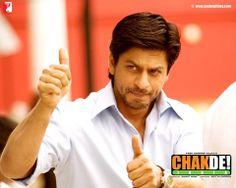 "Shahrukh Khan in ""Chak De India. Srk Movies, Tamil Movies, Hindi Movies, Shahrukh Khan, Shah Rukh Khan Movies, Dhyan Chand, Chak De India, Kabir Khan, Aditya Chopra"