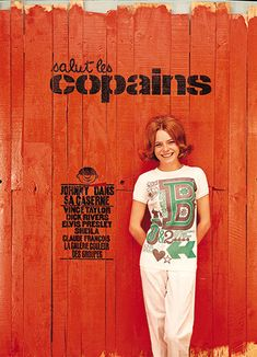 France Gall - cover of Salut les Copains, July France Gall, Age Tendre, Photo Star, Feelin Groovy, Sheila, Jean Marie, Easy Rider, French Actress, Monochrom