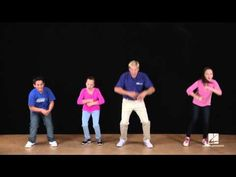 """John Jacobson and friends show us some moves to """"All I Want to Do Is Dance"""" composed by John Jacobson and Roger Emerson and featured in the May/Junw 2013 iss."""