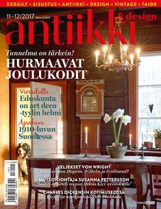 Antiikki & Design 11-12/2017. Kuva: Erja Lempinen.