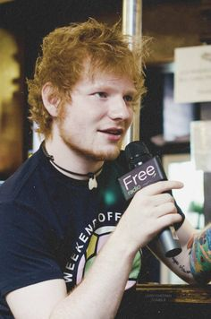 Lets all take a moment to appreciate the adorableness that is ed sheeran