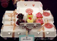 Glitzer, Zucker, Frosting - Heart of Dough, der Cupcake-Blog: Wenns´s mal ein bisschen kleiner sein darf!