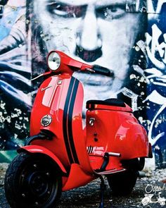 "29 Likes, 2 Comments - Oops! Vespa (@oopsvespa) on Instagram: ""Oops! #RED"""