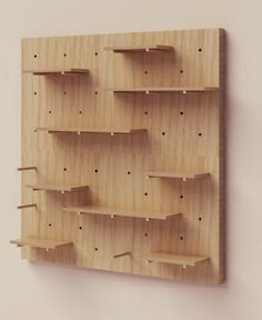 (EN) Nomino Wall is a versatile and modular storage system that adapts to any room, making it suitable for living rooms, bedrooms, kitchens,. Diy Furniture, Furniture Design, Regal Display, Craft Stalls, Craft Fair Displays, Modular Storage, Display Shelves, Diy Woodworking, Store Design