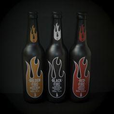 Fire Beer by Mr.Karakas, via Behance