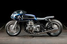 Honda GL 1000 Goldwing Cafe Racer by Krakenhead Customs - The Sportster and Buell Motorcycle Forum Cafe Racer Honda, Cafe Racer Motorcycle, Motorcycle Art, Cafe Racers, Sportster Cafe Racer, Cafe Bike, Motorcycle Types, Motorcycle Design, Honda Custom