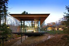 Glass/ Wood House | Kengo Kuma & Associates | New Canaan, Connecticut