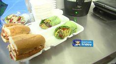 Food Truck Friday: Veggie Wrap and Chicken Parm Sandwich Veggie Wraps, 12 Weeks, Food Truck, Barbecue, Sandwiches, Veggies, Friday, Fresh, Chicken