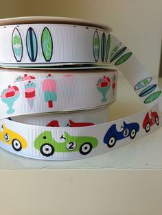 Fun printed grosgrain ribbon from tresdivin.com.au Fun Prints, Grosgrain Ribbon, Printed, Pretty, Ideas, Thoughts