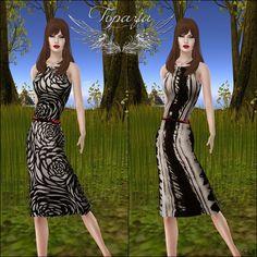 Diosaharu Adamski: TOPAZIA   Outfit: TOPAZIA -Helene DressModel &Phot...