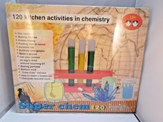 Power Tech Series Super Chem 120 Kitchen Activities in Chemistry Set NEW #ElencoElectronics