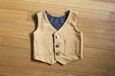 little boys reversible vest tutorial I need to try and make one for Billy :)