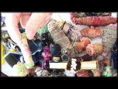 How To Make Fabric Beads - YouTube