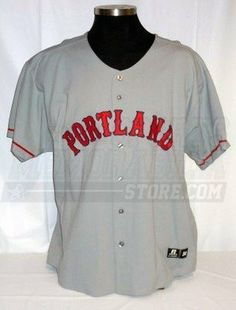 Portland Sea Dogs  7 Game Worn Grey Away Jersey Size 54 - Game Used MLB  Jerseys by Sports Memorabilia.  271.99. Portland Sea Dogs  7 Game Worn Grey  Away ... d22944b19