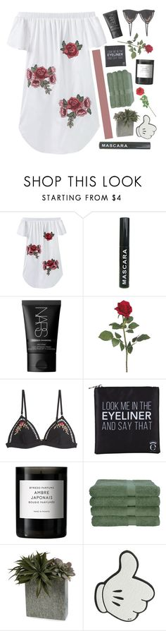 """if you love me let me go // it's me tag! // #232 ~ 240217"" by elliebonjelly ❤ liked on Polyvore featuring NARS Cosmetics, Zimmermann, Eyeko, Byredo, Calcot, Anya Hindmarch and Laura Cole"