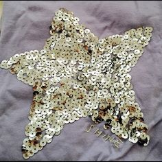 Adorable Star Sequin Shirt From Crew Cuts Sz 8 Adorable! Girls size 8 long sleeve, but thin material, purple shirt with sparkling silver sequin star from Crewcuts. New with tags in gift box! Retail 33.95$ J. Crew Tops Tees - Long Sleeve