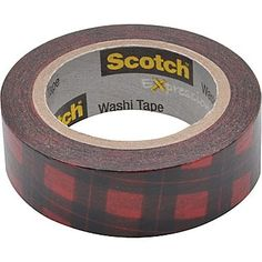 Buffalo Plaid Washi Tape.
