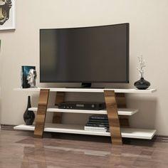 Interior design is not just about the design. You also need to have quality furniture to match the overall feel. Get our Flower Walnut and Cream TV Unit on our website for only $161.94!  Tags: #doseofmodern #tv #tvshow #tvseries #tvd #tvhost #tvshows #tvc #tvn #tvpresenter #tv3 #tvb #tvxq #tvunitesi #tvserie #tver #TVone #tvproduction #tvwattenscheid01 #tvprogram #TvPersonality #TVNews #tvdrama #Tvcabinet #tvglobo #tvcommercial #TVs #tvprogramme #tvtower #tv2 Tv Unit Furniture Design, Tv Unit Interior Design, Small Modern Bedroom, Modern Living, Living Room Furniture, Living Room Decor, Rak Tv, Tv Stand Set, Modern Tv Cabinet