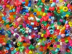Hama beads, these are scattered from one end of my house to the other, courtesy of my 6yr daughter.