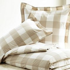 Gwyneth Buffalo Check Duvet Cover - would love this duvet to give our room a feel of a makeover.